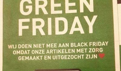 Blik op Duurzaamheid: Black Friday, het kan en moet anders!